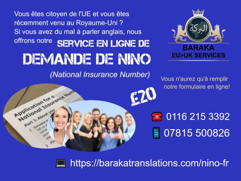 NINO poster france